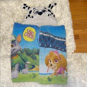 Paw Patrol/Top Pups Hooded Towel